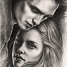 EDWARD &amp; BELLA by wolfandbird