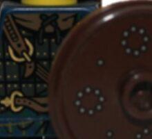 LEGO Highland Battler Sticker