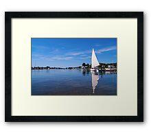 Seaport Scenery 2 Framed Print
