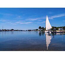 Seaport Scenery 2 Photographic Print