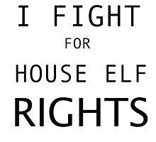 HOUSE ELF RIGHTS by EllishiaFrancis