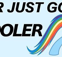 Rainbow Dash - Cool Sticker  by sirllamalot