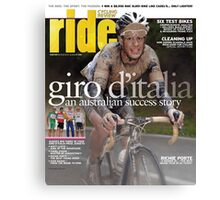 RIDE Cycling Review Issue 49 Canvas Print