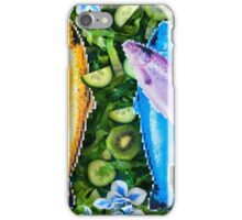 Fish in a green salad iPhone Case/Skin