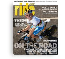 RIDE Cycling Review Issue 47 Canvas Print