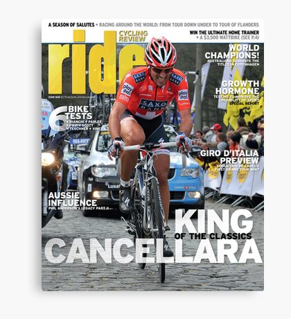 RIDE Cycling Review Issue 48 Canvas Print