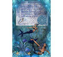 Aquarius... Photographic Print