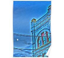 The Baker Building , Port Townsend , Washington Poster
