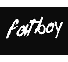 Fatboy Photographic Print