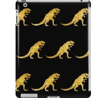 Golden T. Rex Pattern iPad Case/Skin