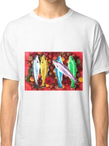 Fish in a fruit salad Classic T-Shirt