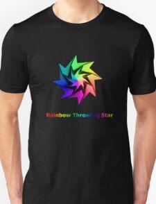 Rainbow Throwing Star T-Shirt
