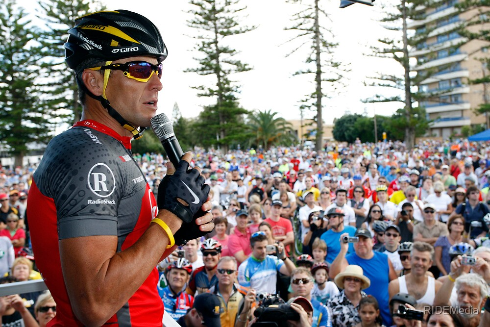 Lance Armstrong 2010 Tour Down Under - Twitter ride by RIDEMedia