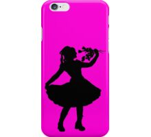 Oh Honey, You KNEW!! (Black Silhouette 2) iPhone Case/Skin