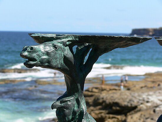 Sculptures by the sea - Bondi by Marius Brecher
