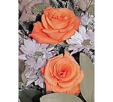 Stop and Smell the Roses.... Photographic Print