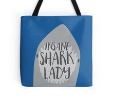 INSANE SHARK LADY Tote Bag