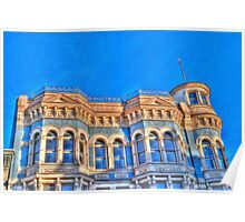 The Hastings Building , Port Townsend, Washington Poster