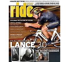 RIDE Cycling Review Issue 43 - Lance Armstrong Photographic Print