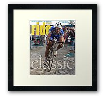 RIDE Cycling Review Issue 28 Framed Print