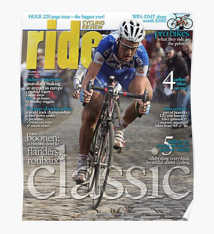 RIDE Cycling Review Issue 28 Poster