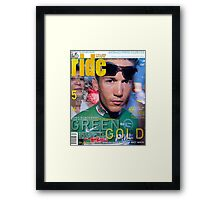 RIDE Cycling Review Issue 18 Framed Print
