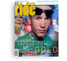 RIDE Cycling Review Issue 18 Canvas Print