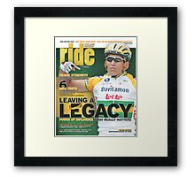 RIDE Cycling Review Issue 31 Framed Print
