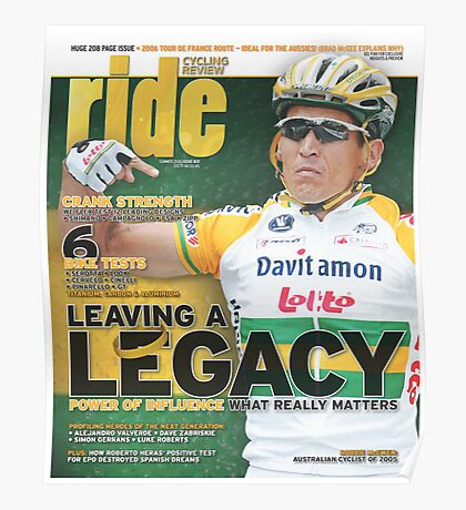RIDE Cycling Review Issue 31 Poster