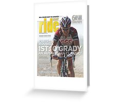 RIDE Cycling Review Issue 38 Greeting Card