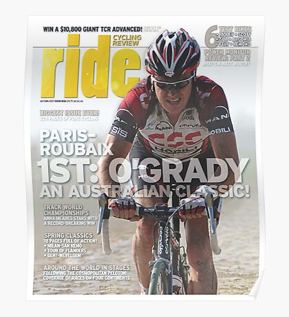 RIDE Cycling Review Issue 38 Poster