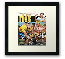 RIDE Cycling Review Issue 36 Framed Print