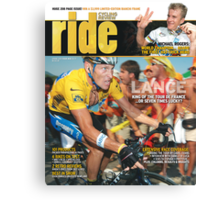 RIDE Cycling Review Issue 36 Canvas Print