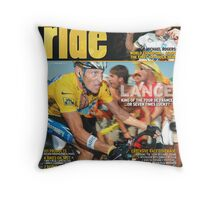 RIDE Cycling Review Issue 36 Throw Pillow