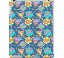 Nineties Dinosaurs Pattern iPad Case/Skin