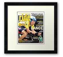 RIDE Cycling Review Issue 22 Framed Print