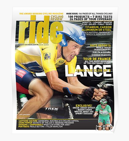 RIDE Cycling Review Issue 22 Poster