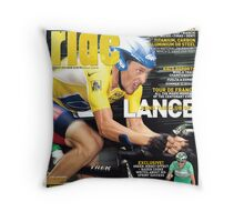 RIDE Cycling Review Issue 22 Throw Pillow