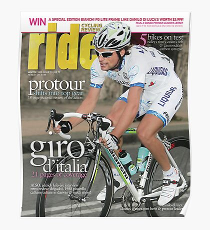 RIDE Cycling Review Issue 29 Poster