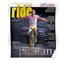RIDE Cycling Review Issue 24 - Marco Pantani Poster