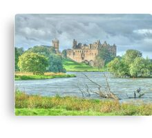 Linlithgow Palace HDR Canvas Print