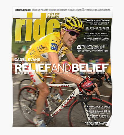 RIDE Cycling Review Issue 42 Poster