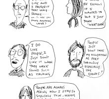 talking heads by Loui  Jover