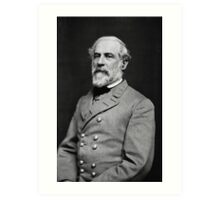 Portrait of Confederate General Robert E. Lee (1864) Art Print
