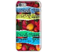 Crocodiles in a fruit salad iPhone Case/Skin