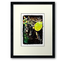Black Saturday - Touched by Fire Framed Print