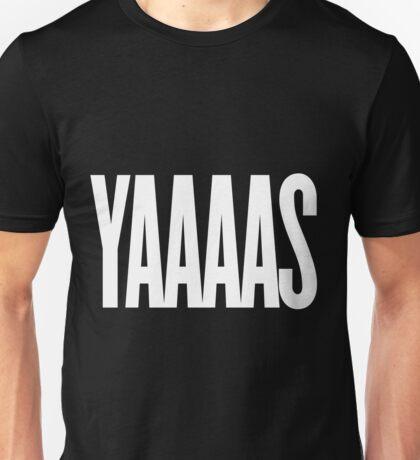 YAAAS (White) Unisex T-Shirt