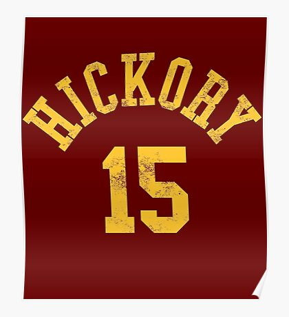 Hoosiers Movie Jimmy Chitwood Jersey Poster