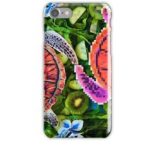 Turtles in a green salad  iPhone Case/Skin