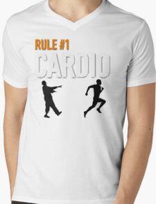 RULE #1 CARDIO Mens V-Neck T-Shirt